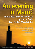 Poster for Morocco Evening