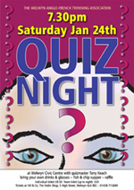 Poster for Quiz Night